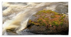Beach Towel featuring the photograph Dave's Falls #7442 by Mark J Seefeldt