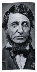 David Henry Thoreau Beach Towel