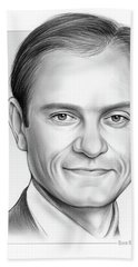 David Hyde Pierce Beach Towel