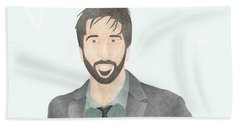 David Schwimmer Beach Towel