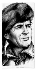 Davy Crockett Beach Towel