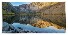Dawn At Convict Lake Beach Sheet