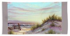 Dawn At The Beach Beach Towel