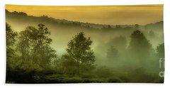 Dawn At Wildlife Management Area Beach Towel