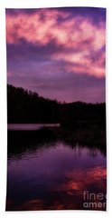 Beach Towel featuring the photograph Dawn Big Ditch Wildlife Management Area by Thomas R Fletcher