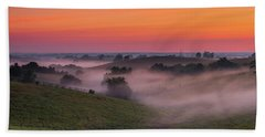 Dawn In Kentucky Beach Towel by Ulrich Burkhalter