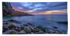 Dawn In Monument Cove Beach Towel by Rick Berk