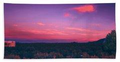 Dawn In Taos Beach Towel