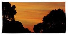 Dawn In The Forest Beach Sheet