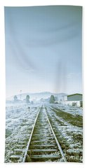 Dawn Line Beach Towel