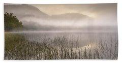 Dawn Mist - Loch Achray 1 Beach Towel