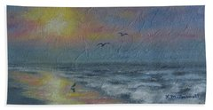 Dawn Mist - Three Gulls Beach Sheet