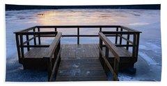 Dawn Of Ice Beach Sheet