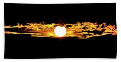 Beach Towel featuring the photograph Dawn Of The Golden Age by Az Jackson