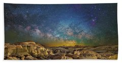 Dawn Of The Universe Beach Towel