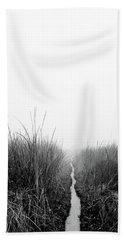 Dawn On Back Bay  Beach Towel