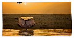 Dawn On The Ganga Beach Sheet