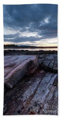 Dawn On The Shore In Southwest Harbor, Maine  #40140-40142 Beach Towel