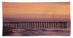 Dawns Purple Waters Beach Towel