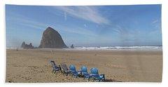 Day At Haystack Rock Beach Sheet
