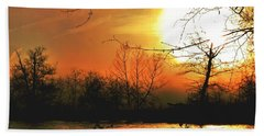 Beach Towel featuring the photograph Day Break by EDi by Darlene