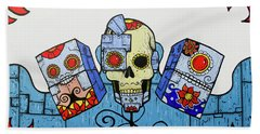 Day Of The Dead 2.0 Beach Towel