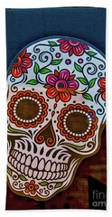 Beach Towel featuring the photograph Day Of The Dead  by Mitch Shindelbower