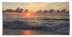 Daybreak At Cocoa Beach Beach Towel