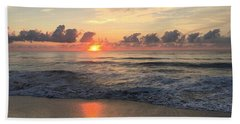 Daybreak At Cocoa Beach Beach Towel