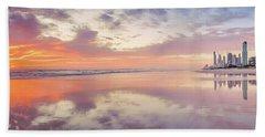 Daybreak In Paradise Beach Towel