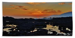 Daybreak Kalaupapa Beach Towel
