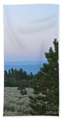 Daybreak On The Mountain Beach Towel