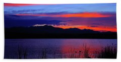Daybreak Sunset Beach Towel