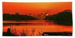 Daybreak Beach Towel by Tom Claud