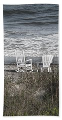 Daydreaming By The Sea  Beach Towel