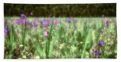 Daydreams In A Meadow Beach Sheet