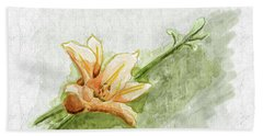 Daylily #1 Beach Towel
