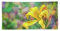 Daylily Fresco Beach Sheet