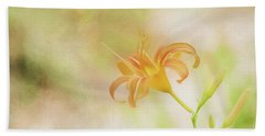 Daylily Beach Towel by Wade Brooks