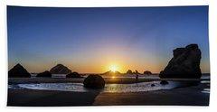 Day's End At Bandon Beach Sheet