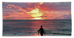 Day's End On The North Shore Beach Towel