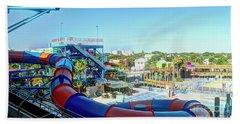 Daytona Lagoon Beach Towel