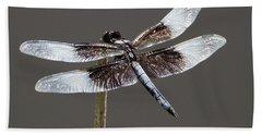 Dazzling Dragonfly Beach Towel