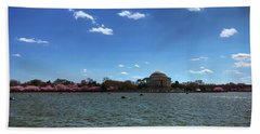 Dc Cherry Blossoms 2018 Beach Towel