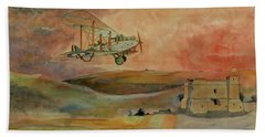 De Havilland Dh9 Beach Towel