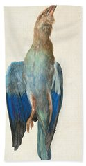Dead Blue Roller Beach Towel