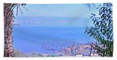 Dead Sea Overlook 2 Beach Towel