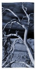 Beach Towel featuring the photograph Dead Tree In Death Valley 14 by Micah May