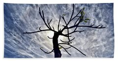 Dead Tree In St. Johns Antigua Beach Sheet