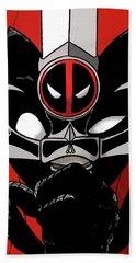 Deadpool Thundercats Crossover Beach Towel